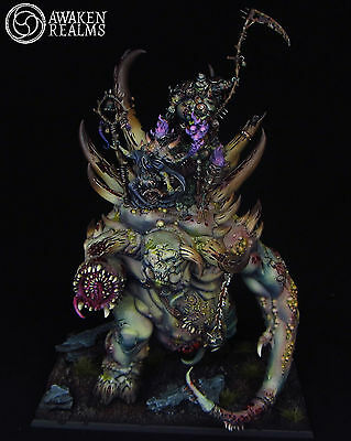 Warhammer Fantasy Battle Glottkin painted by Awaken Realms (commission)