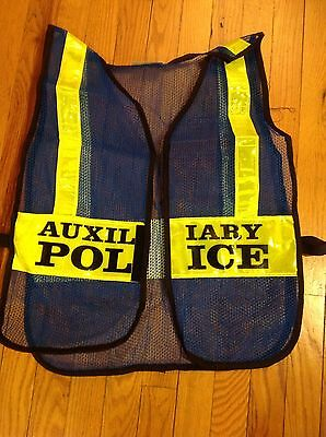 NYPD Auxiliary Traffic Vests - Obsolete - Collector Use
