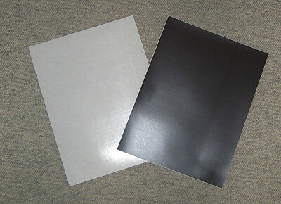 * 12 MAGNET SHEETS, 20mil THICK, Letter size, SELF ADHESIVE, ADVERTISING MAGNET