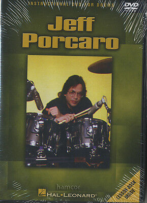 Jeff Porcaro Learn How to Play Drum Tuition DVD Toto