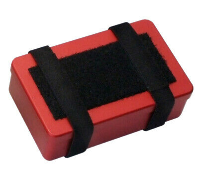 SUMA Container, Small (RED) Aluminum Survival/First Aid/SERE Kit Box SOLKOA