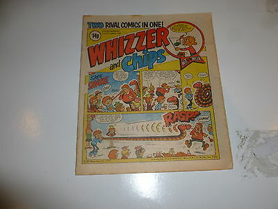 WHIZZER & CHIPS Comic - Date 12/12/1981 - UK Paper Comic