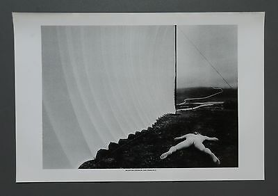 Rare Valentine Atkinson 1979 Offset Lithograph Photo Print 33x48cm Male Nude B&W