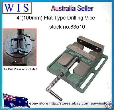 """American Style 4""""(100mm) Flat Tongs Vise Drilling Machine Stand Plat Nose Pliers"""