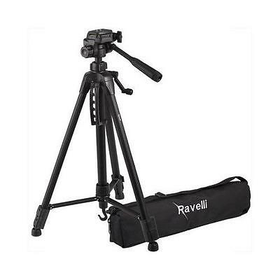 Ravelli APLT4 61-inch Light Weight Aluminum Tripod With Bag New