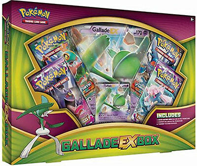 POKEMON cards GALLADE EX Box Gift Set SEALED IN HAND!!