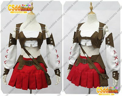 Miqote Miqo'te Cosplay Costume from FF14 Final Fantasy XIV  with tail & ear