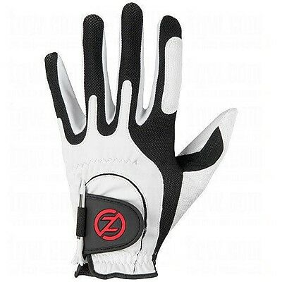 NEW Zero Friction Mens Universal One Size Fits All Golf Glove - LH - White