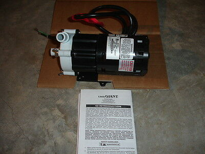 "Little Giant Magnetic Drive Water Pump 3-MDX 5/8"" Inlet/Outlet, 7 GPM, 115V NEW"