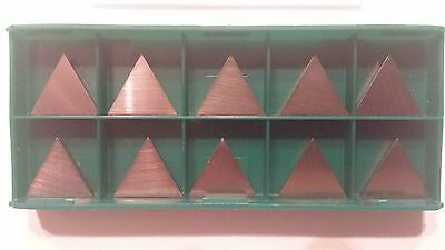 New World Products TPMT 16T308 AA Mp4 C5 Carbide Inserts 10pcs Uncoated