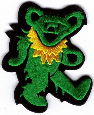Grateful Dead Dancing Bear 9 Embroidered Patch !