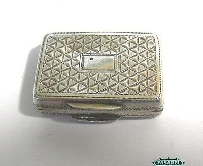 William IV Sterling Silver Vinaigrette Box By John Bettridge Birmingham 1833