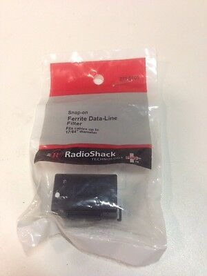 Snap-on Ferrite Data-Line Filter #273-0105 By RadioShack