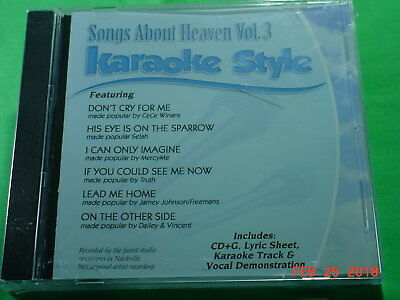 Musical Instruments & Gear Songs Of Peace Volume 1 Christian Karaoke Style New Cd+g Daywind 6 Songs To Win Warm Praise From Customers Karaoke Entertainment