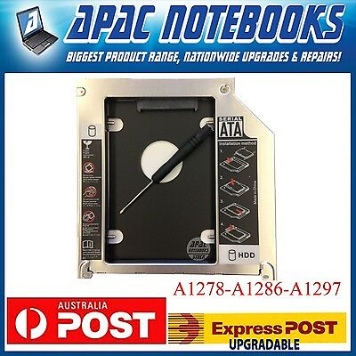NEWEST SATA HDD SSD Second Hard Drive Bay Caddy For Macbook A1278 A1286 A1297