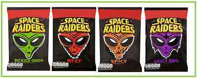 Space Raiders 20g box of 40 packs  (Choose Flavour) Price Marked