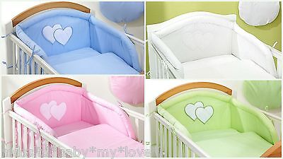 BABY Nursery Cot Bumper only  to fit Cot  or Cot Bed/Cotbed