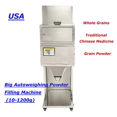 10-1200g Granular and Powder Filler Popcorn Peppermint Filling Machine  Autoweig