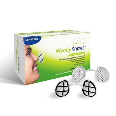 Nasal Filters for Air Pollution Dust Pollen Allergies Hay Fever Mold WoodyKnows