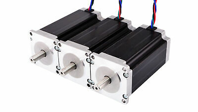 DE Ship 3pcs High Torque 3Nm(425oz.in) Nema 23 Stepper Motor CNC Mill Router