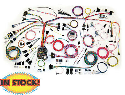 AMERICAN AUTO WIRE AAW500661 - 67-68 Chevy Camaro Clic Update Wiring on