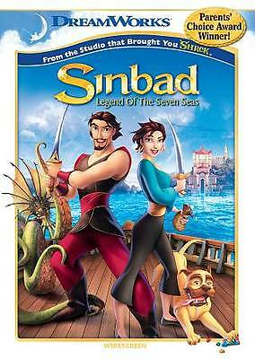 DREAMWORKS - SINBAD - LEGEND OF THE SEVEN SEAS - AUTHENTIC DREAMWORKS DVD