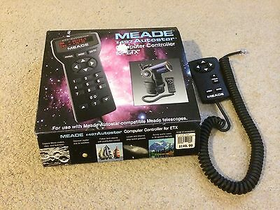 Meade 497 Autostar Remote And 492 Controller Set 35-4702-00