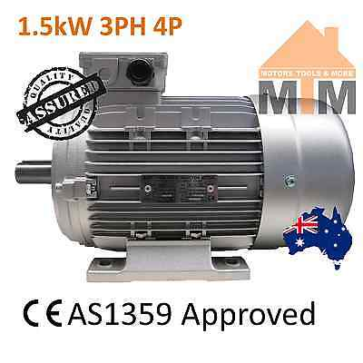 3 PH Three Phase Electric Motor 415V 1.5kW 2HP 1400rpm 4 Pole