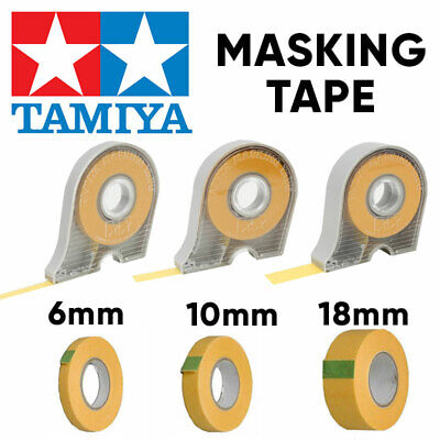 TAMIYA Masking Tape 6mm 10mm 18mm and Refills - Choose