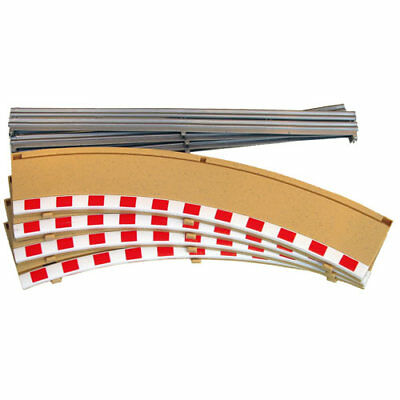 SCALEXTRIC C8228 4x Rad2 Outer Borders Barriers
