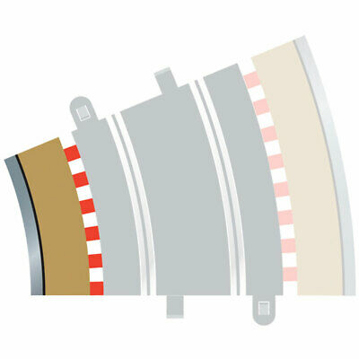 SCALEXTRIC C8281 4x Rad3 Inner Borders Barriers