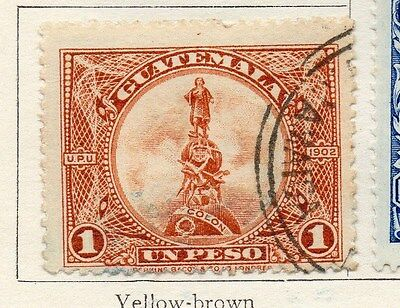 Guatemala 1925 Early Issue Fine Used 1p. 118697