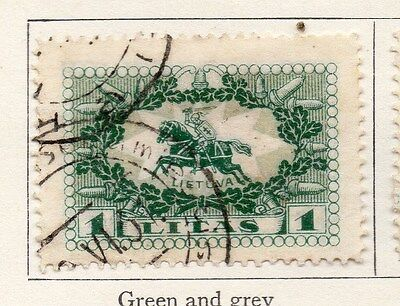 Lithuania 1927 Early Issue Fine Used 1L. 118632