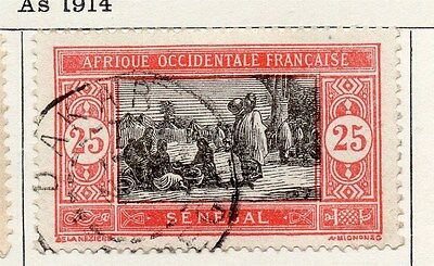 Senegal 1922 Early Issue Fine Used 25c.  118813