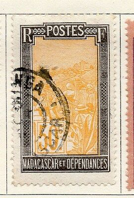 Madagascar and Dependencies 1925-27 Early Issue Fine Used 50c. 118874