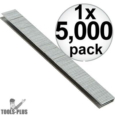 "Porter-Cable 5,000 1-1/2"""" x 1/4"" 18G Narrow Crown Staples PNS18150 New"