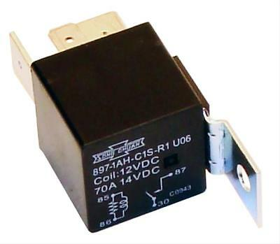 American Autowire Relay 12 V 70 amps Four Pole Auxiliary Fan Usage Each