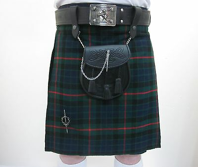 Gunn Modern Tartan Scottish Kilt   Waist Sizes 30 - 52