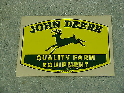 John Deere Tractor Logo Quality Farm Equipment Decal Sticker