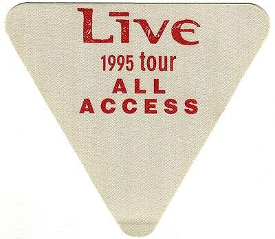 LIVE 1995 Throwing Copper Concert Tour Backstage Pass!! Authentic OTTO