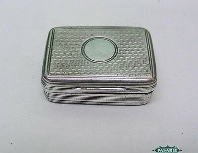 Antique Sterling Silver Vinaigrette By William Eaton London England 1817