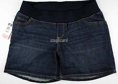 NEW Maternity Shorts Denim Jean Women's Liz Lange NWT Size Sz XS S M L XL XXL