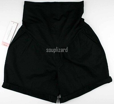 NEW Maternity Shorts Black Women's Cotton Liz Lange NWT Size Sz XS S M L XL XXL