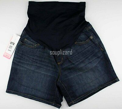 NEW Maternity Shorts Jean Denim Women's Liz Lange NWT Size Sz XS S L