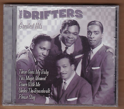 "the DRIFTERS cd ""Greatest Hits"" 2001 Laserlight NEW Sealed 10 Tracks Oldies"