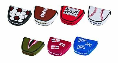 Odyssey Putter Cover Mallet / 2 Ball Putter ** New For 2016/17 **