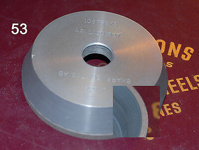 Diamond Grinding Wheel (53) Tapered Cup Type 100 dia, 20 arb. Skarpverktyg