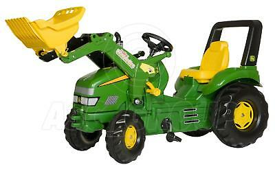 Rolly Toys - X-TRAC JOHN DEERE XL Ride on Pedal Tractor & Trac Loader Age 3-10