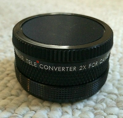 Zesnar Teleconverter 2x For Canon FD Camera Made in Japan FREE SHIPPING!