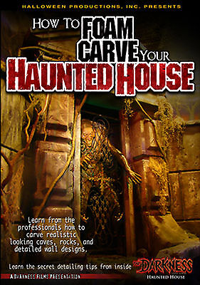 How to Foam Carve Your Haunted House DVD by Halloween Productions, Inc. #009HH